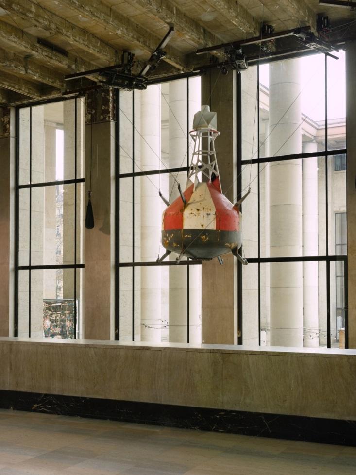 Vue de l'exposition  de Julius von Bismarck, « Die Mimik der Tethys », Palais de Tokyo (20.02.2019 – 12.05.2019) Courtesy de l'artiste et de Sies + Höke (Düsseldorf), Alexander Levy (Berlin), Marlborough Contemporary (Londres / New York) Photo : André Mor