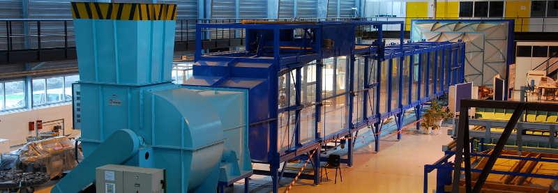 La Soufflerie atmosphérique de Centrale Nantes